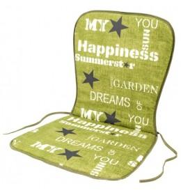 Baštenski jastuk za niski naslon Zeleni