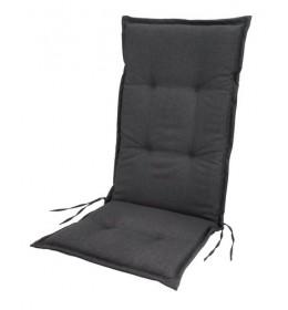 Baštenski jastuk za podesive stolice Milano sivi