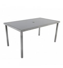 Baštenski sto Atlantic sivi