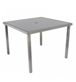 Baštenski sto Avola sivi