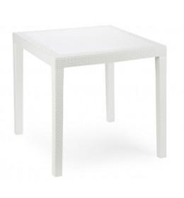 Baštenski sto plastični Bianco