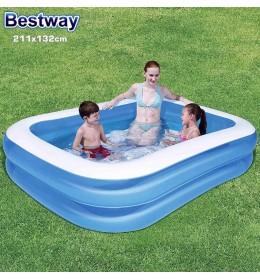 Bazen Family Pool  211x132x46cm plavi Bestway