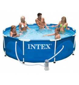 Bazen Intex Steel Frame 305x76cm sa filter pumpom