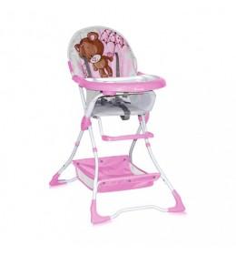 Stolica za hranjenje Bertoni Bravo Pink Bear