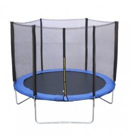 Trambolina 244 cm sa ogradom i mrežom bez merdevina