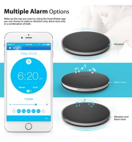 Bežični Smart budilnik iLuv Bluetooth Smart Alarm Shaker Black