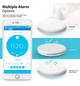 Bežični Smart budilnik iLuv Bluetooth Smart Alarm Shaker White