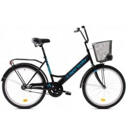 Bicikl Capriolo Everyday 24 crno