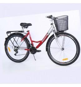 Bicikl City Bike Everest 26in 18 crveno sivi