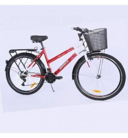 Bicikl City Bike Mirage 26in 18 crveno beli