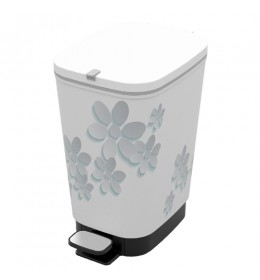 Kanta za smeće Chic Bin S Flower Gray 10l