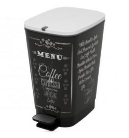 Kanta za otpatke Chic Bin Coffe Menu M 35L