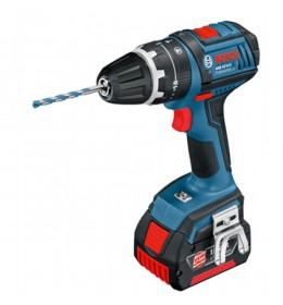Aku vibraciona bušilica - odvrtač Bosch GSB 18 V-LI Professional 2 x 4,0 Ah