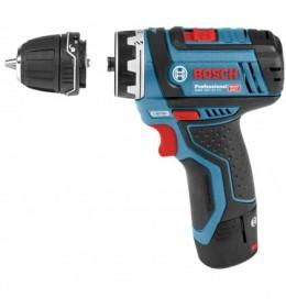 Bosch akumulatorska bušilica/ odvrtač  GSR 12V-15 FC + GFA 12 B sa izmenljivim glavama