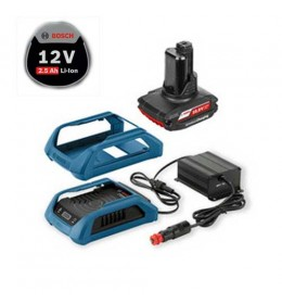 Bosch Starter set Car GAL 1830 W-DC + GBA 12V 2.5 Ah W Wireless charging Professional