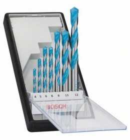 Bosch 7-delni Robust Line set višenamenskih burgija CYL-9 Multi Construction