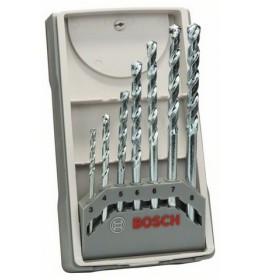 Bosch 7-delni set burgija za kamen CYL-1