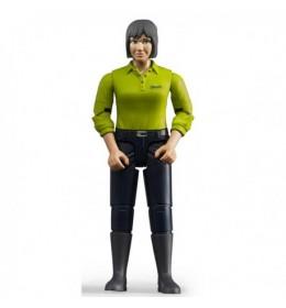 Bruder Figura žena, tamno plavi jeans