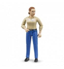 Bruder Figura ženska plave farke 604080