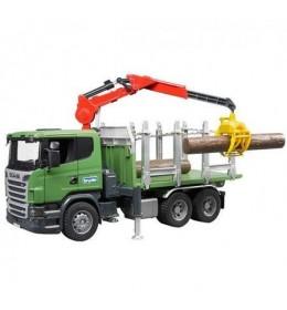 Kamion Scania za prevoz drva Bruder