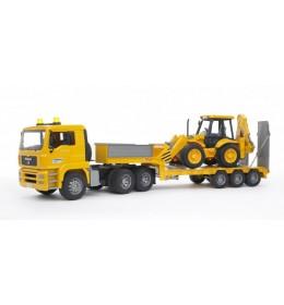 Bruder kamion Man tegljač sa JCB 4X utovarivačem