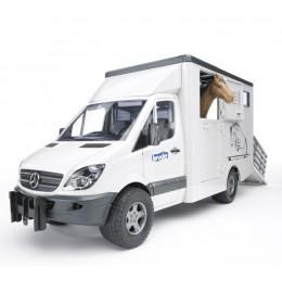Bruder kamion za prevoz konja Mercedes Benz Sprinter