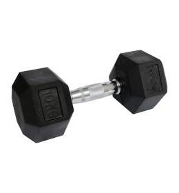 Bučice gumirane HEX 1x10kg RX DB6101-10