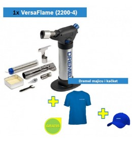 Butan lampa DREMEL Versa flame + Dremel majica i kačket