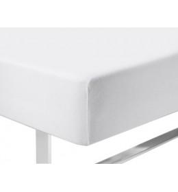 Čaršav 140/150×200×40 žersej bela