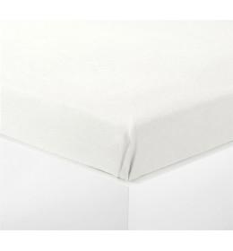 Čaršav 140x250  flanel  bela