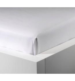 Čaršav saten white 240 x 260 cm