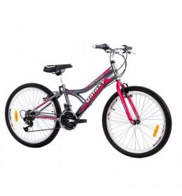 Dečiji bicikl CASPER 240 24in/18 sivi