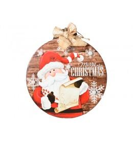 Novogodišnja dekoracija Kugla deda Mraz