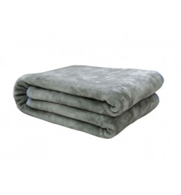 Ćebe Mink sivo 150 x 200 cm