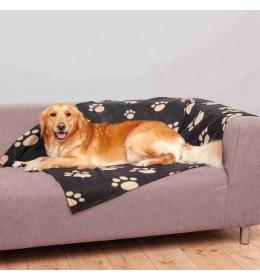 Ćebe za pse Barney 150x100 cm Black i bež