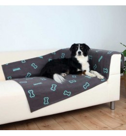 Ćebe za velike pse 150cm Trixie Barney sivo