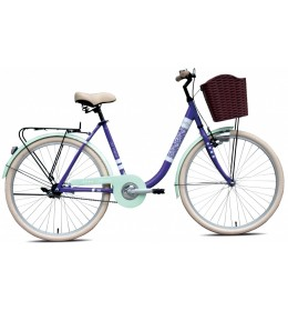 City Bike Adria Melody 26 Ljubičasta 17