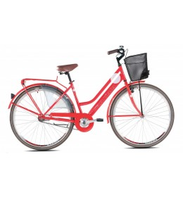 City Bike Amsterdam Lady 28 Crvena