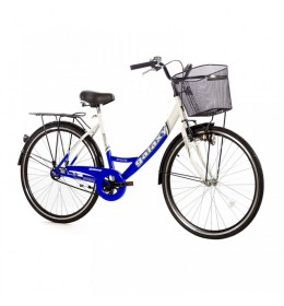 City Bike Classic 28in plavo-bela