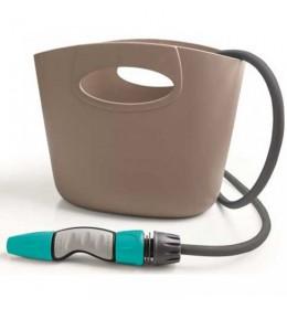 Crevo za zalivanje sa korpom Aquapocket siva