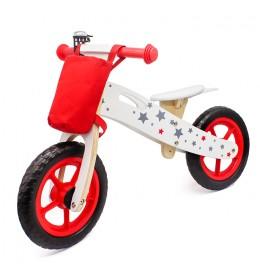 Balance Bike 755 Bicikl bez pedala za decu Crveni