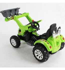 Dečaji traktor na akumulator Loader zeleni