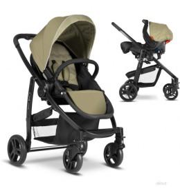 Dečija kolica+auto sedište Graco duo sistem Evo sand