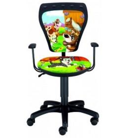 Dečija radna stolica Ministyle TS22 GTP28-BL animals SH