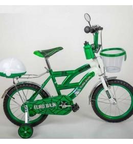 Dečiji bicikl sa pomoćnim točkićima BMX 12-zeleni