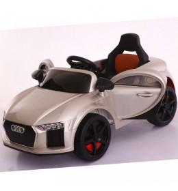 Dečiji auto na akumulator Audi Mini metalik sivi