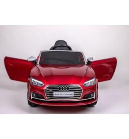 Dečiji auto na akumulator licenciran AUDI S5 CABRIOLET sa kožnim sedištem i mekim gumama