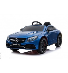 Dečiji auto na akumulator Mercedes C63 AMG LICENCIRANI Plavi