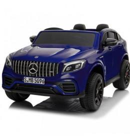 Dečiji auto na akumulator Mercedes GLC 63 S AMG licencirani dvosed plavi