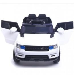 Dečiji automobil na akumulator Land Rover Mini beli sa mekim gumama